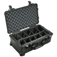 Pelican Case 1510 with Padded Dividers