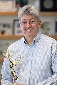 Andy Jantzen with Emmy