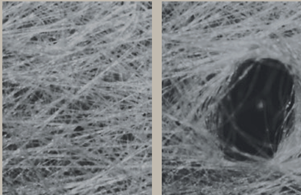 image of carpet fibers